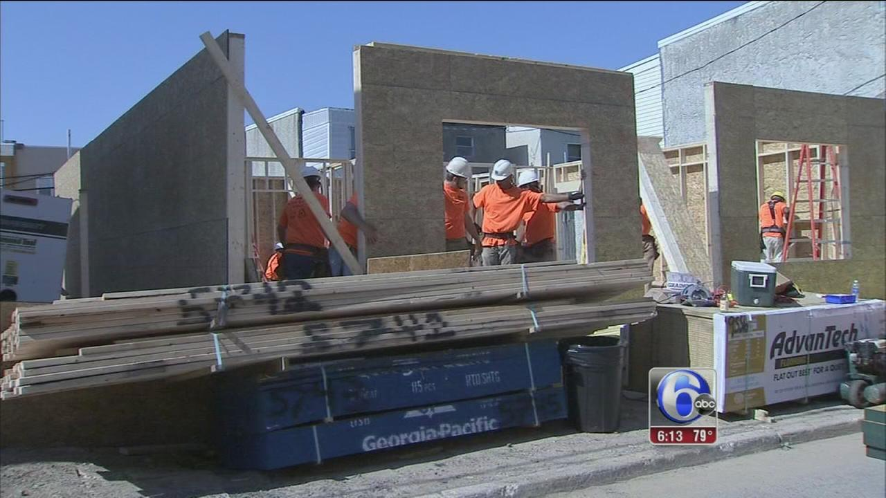 VIDEO: New homes built for families in Point Breeze