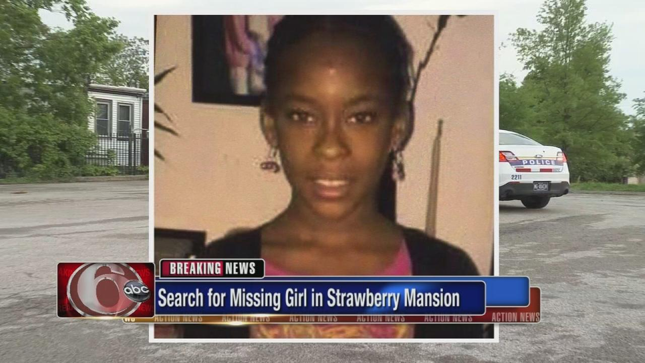 Search for missing girl in Strawberry Mansion