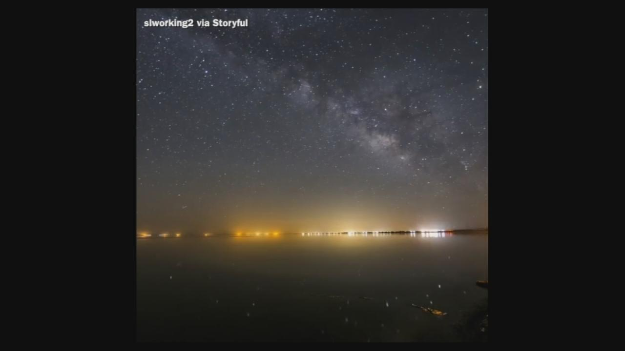 VIDEO: Starry skies over Desert Shores