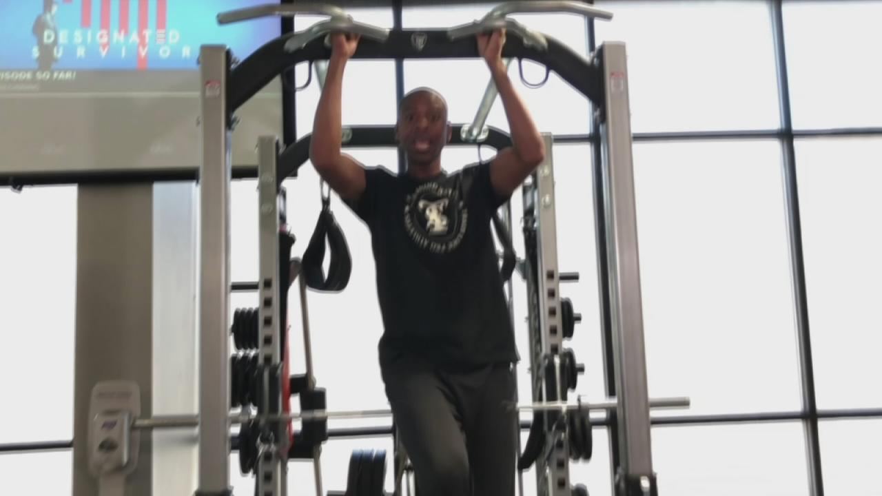 Fitness assisted pullup