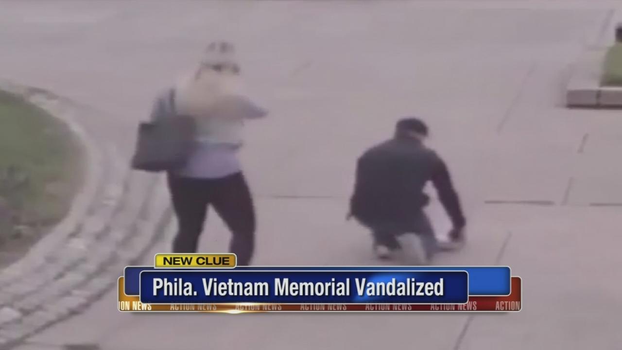 VIDEO: Penn?s Landing Vietnam memorial vandalized