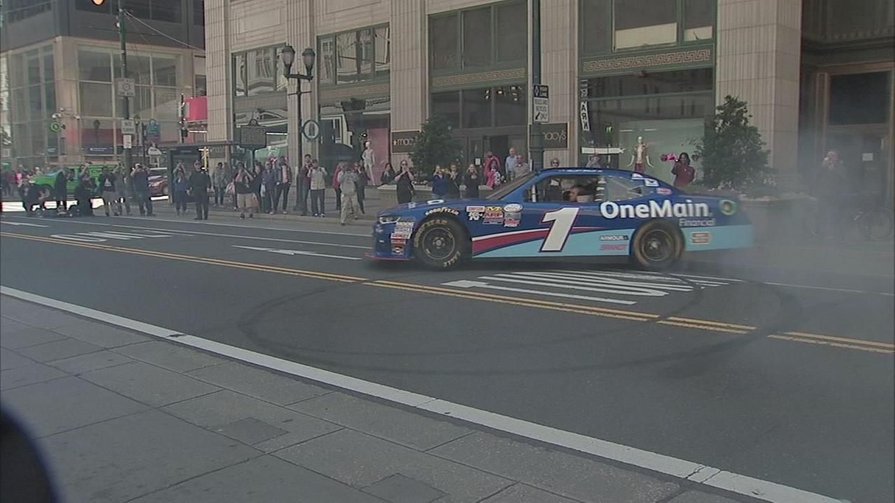 NASCAR takes over Center City