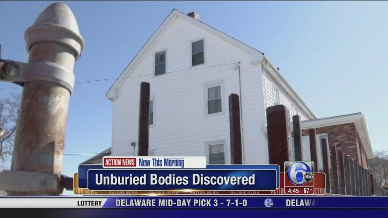 VIDEO: Unburied bodies discovered at rental storage unit in Mass.