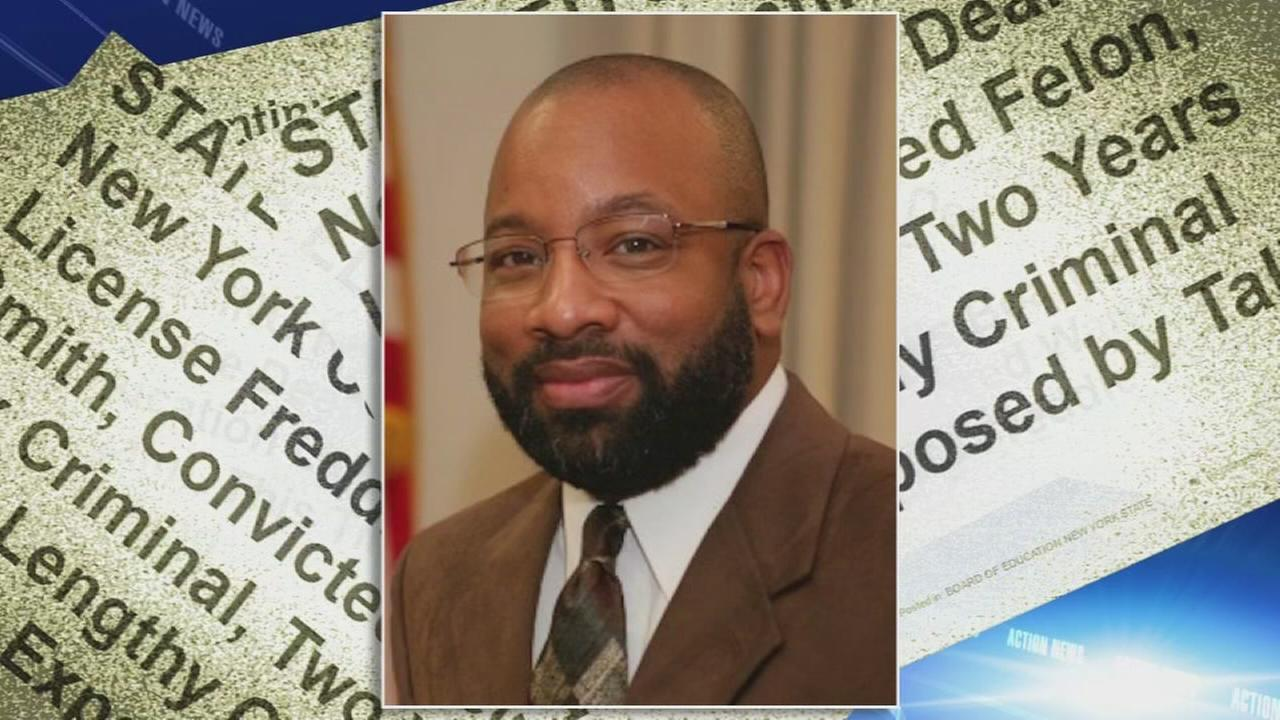 Convicted felon hired as vice principal of Chester High School
