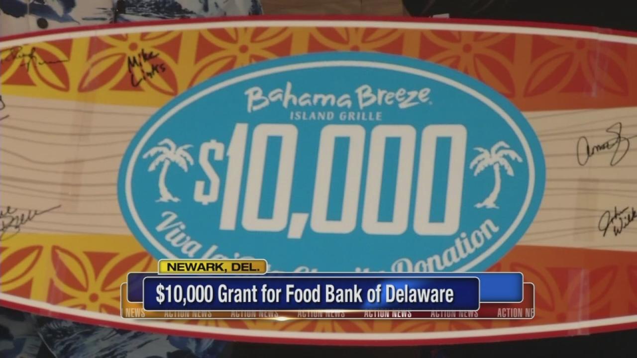 Big Bahama Breeze donation