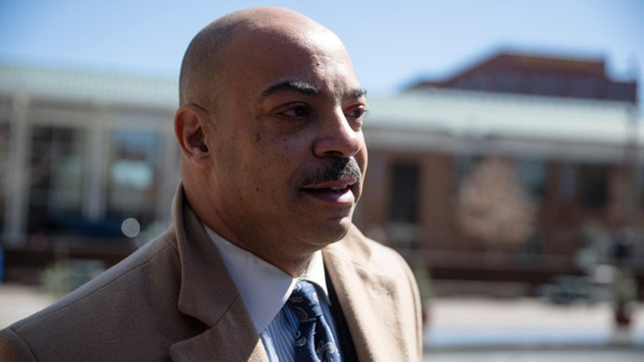 Philadelphia District Attorney Seth Williams arrives for his arraignment on bribery and extortion charges at the federal courthouse, Wednesday, March 22, 2017, in Philadelphia.
