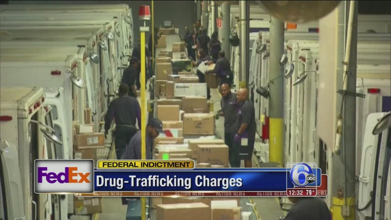 VIDEO: FedEx indicted on drug-trafficking charges