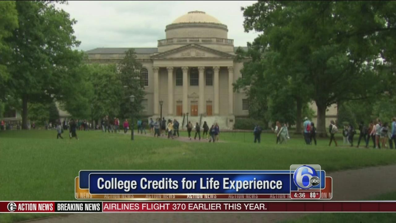 VIDEO: College credits for life experience