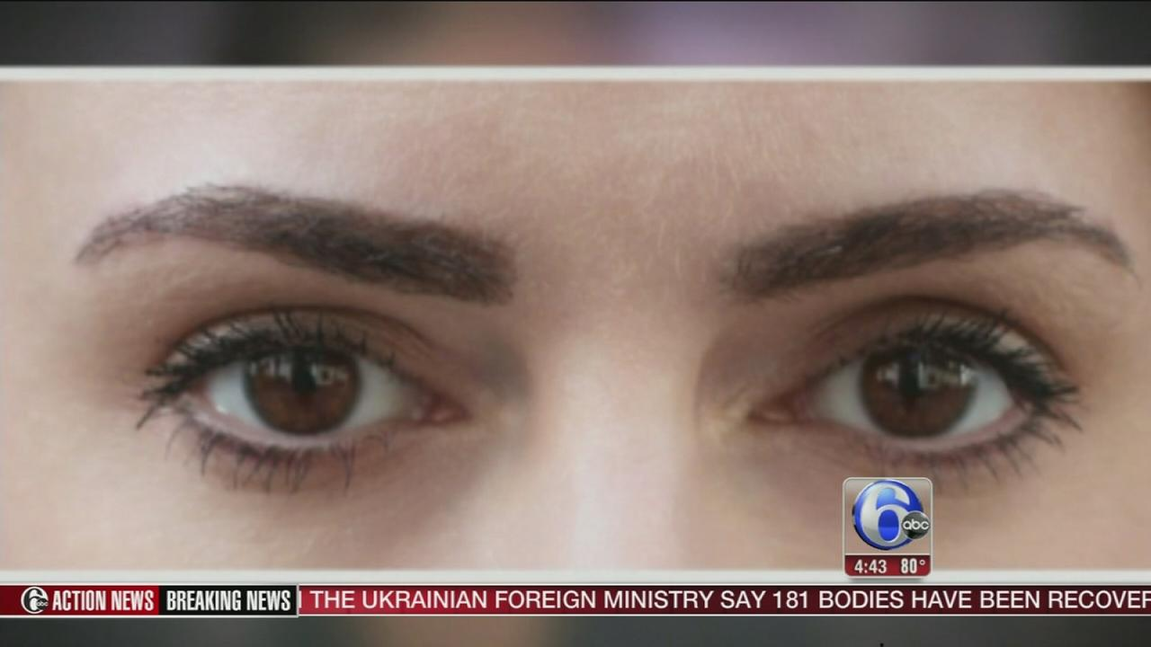 VIDEO: Eyebrow transplants for that perfect look