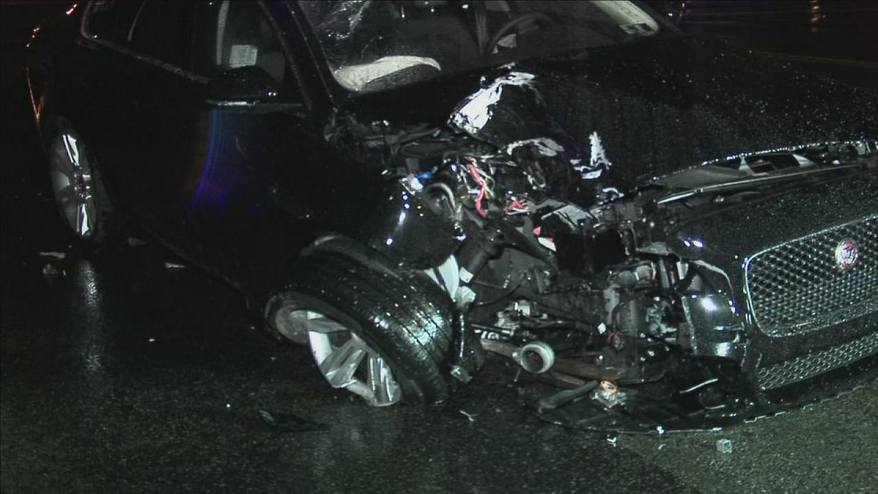 Child, 12, injured after crash in Northeast Philadelphia