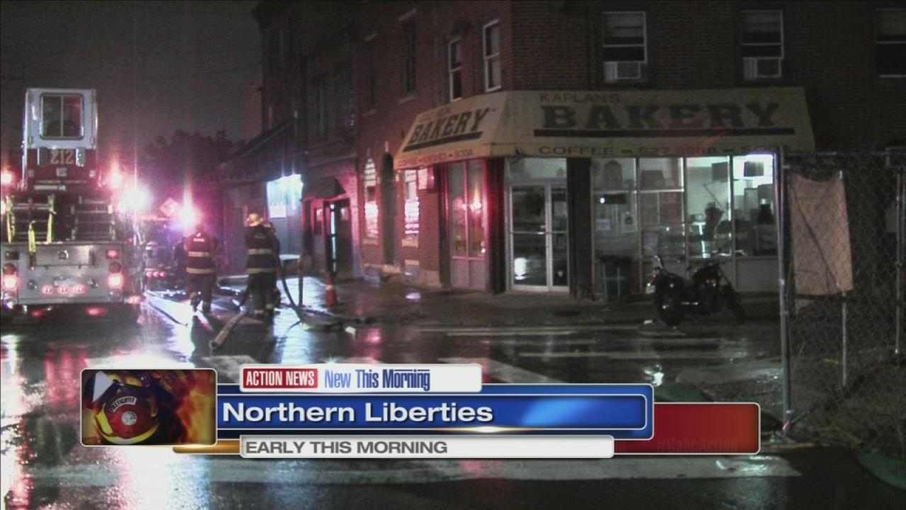 Fire damages landmark bakery in Northern Liberties