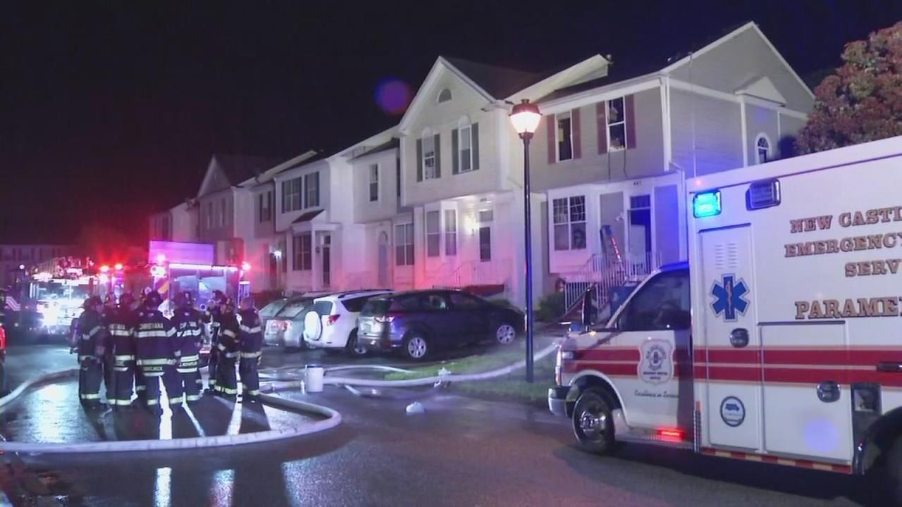 4 injured after house fire in Bear, Delaware