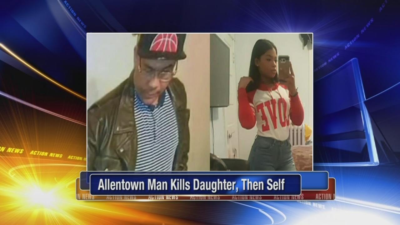 Coroner: Allentown father kills daughter, 18, then self