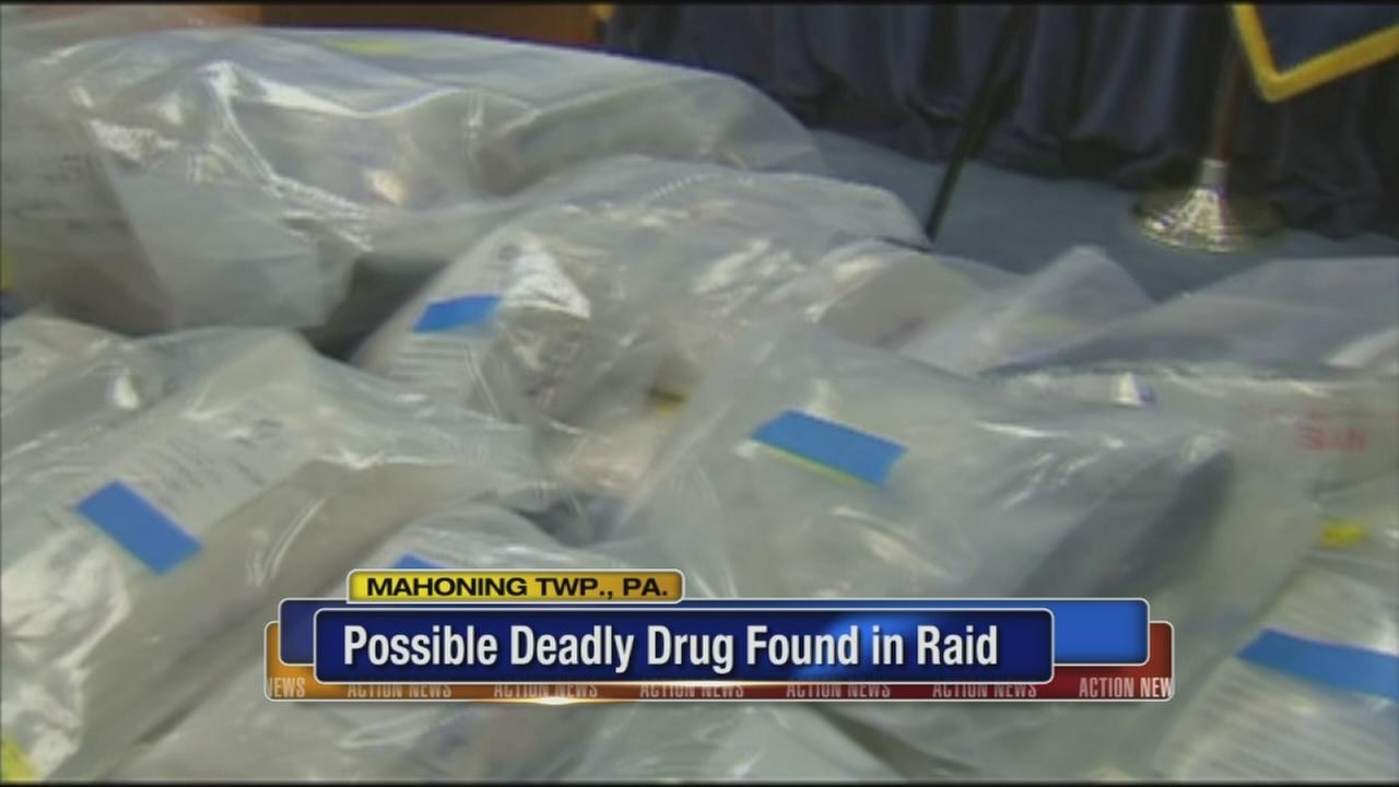 Possible deadly drug found in raid