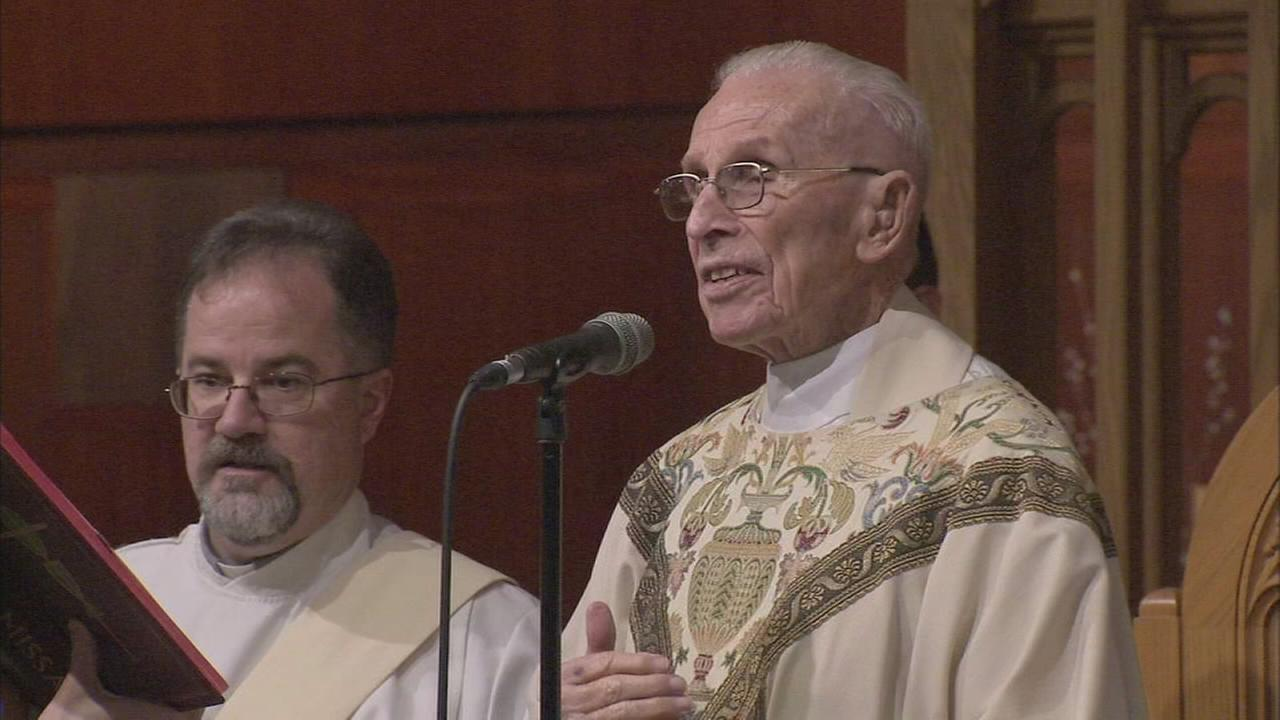 Msgr. celebrates his 90th birthday, and 65 years as a priest