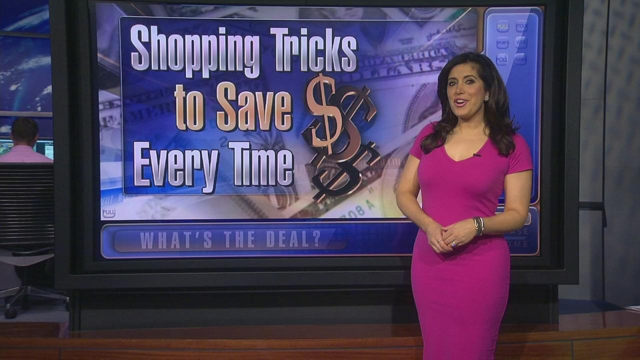 Whats the Deal: Shopping tricks to save time and money