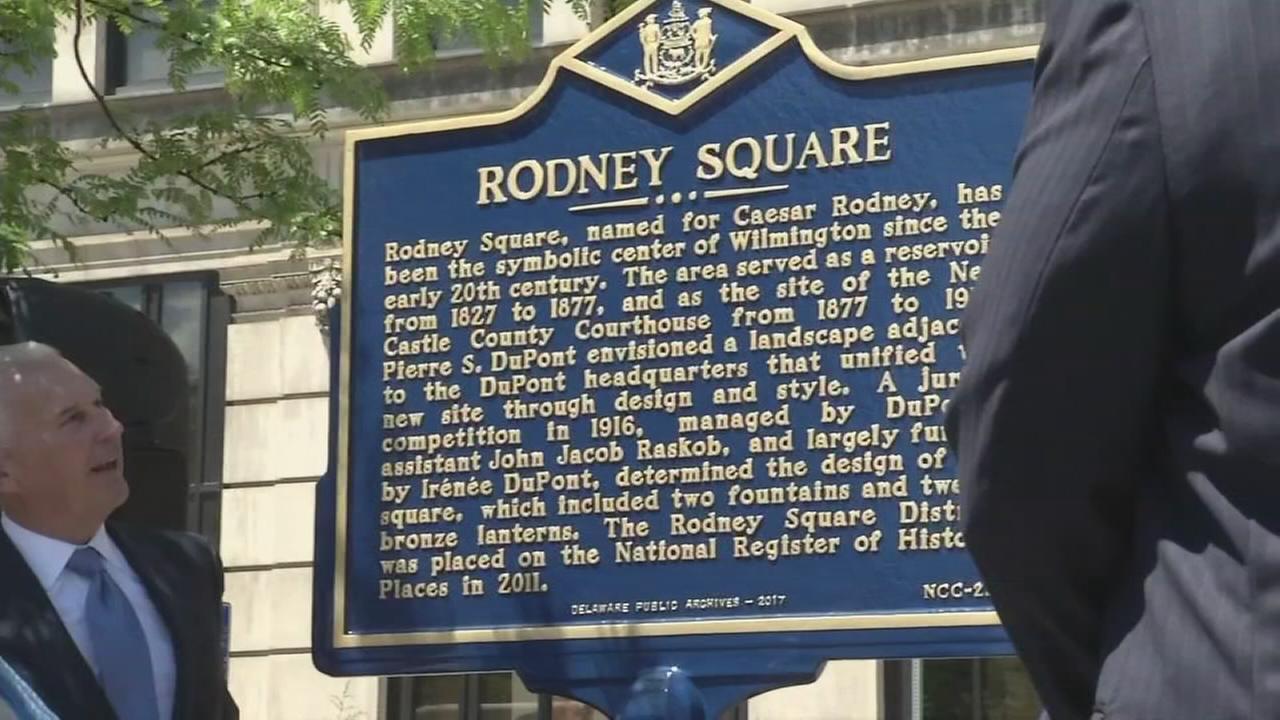 Caesar Rodney, Patriot, recognized
