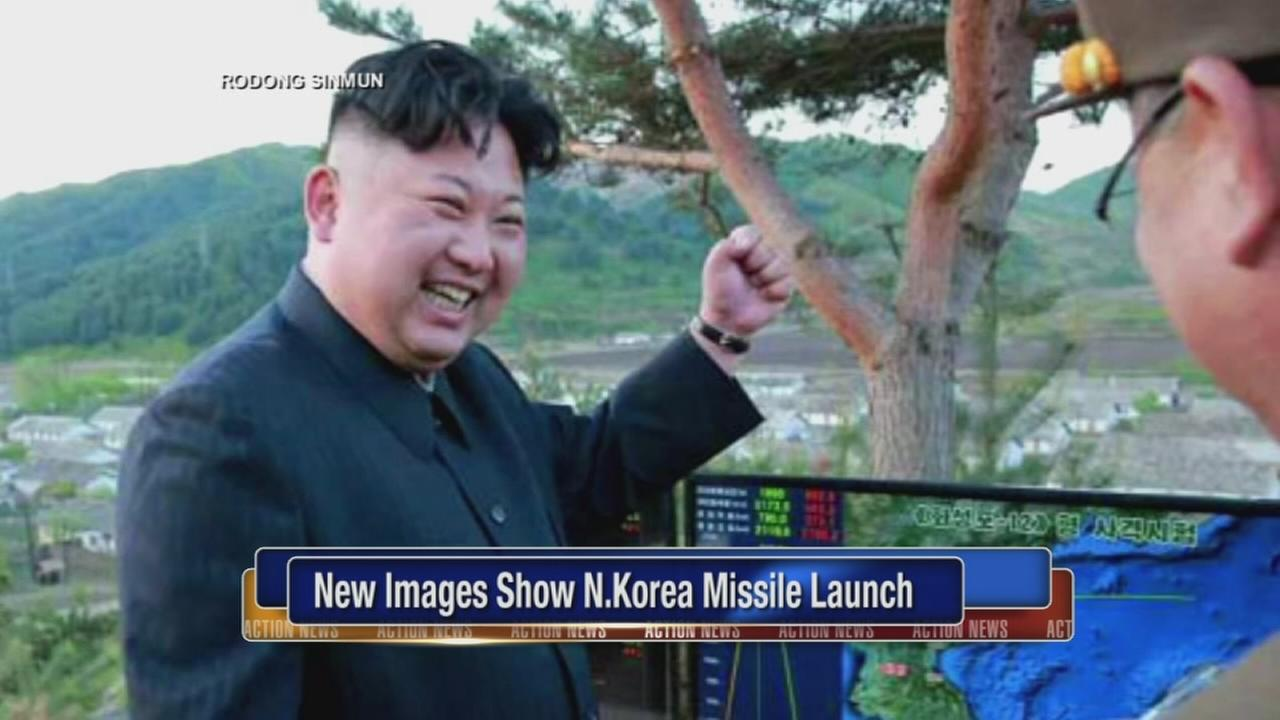 New images show N. Korea missile launch