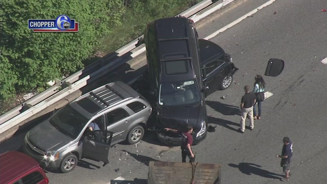 Crash on I-95 in Delaware
