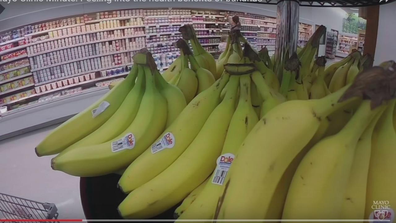 Go bananas for bananas, nutritionists say