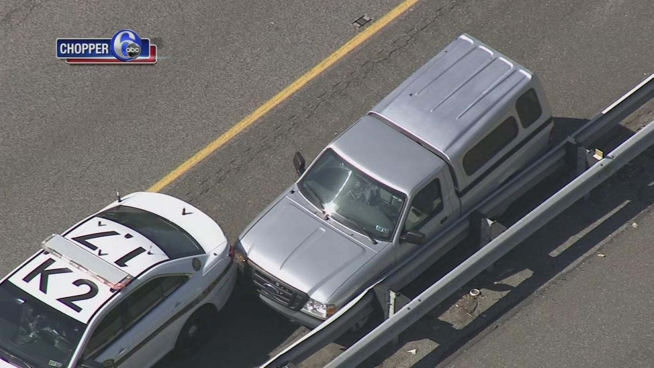 Chase and crash on I-95