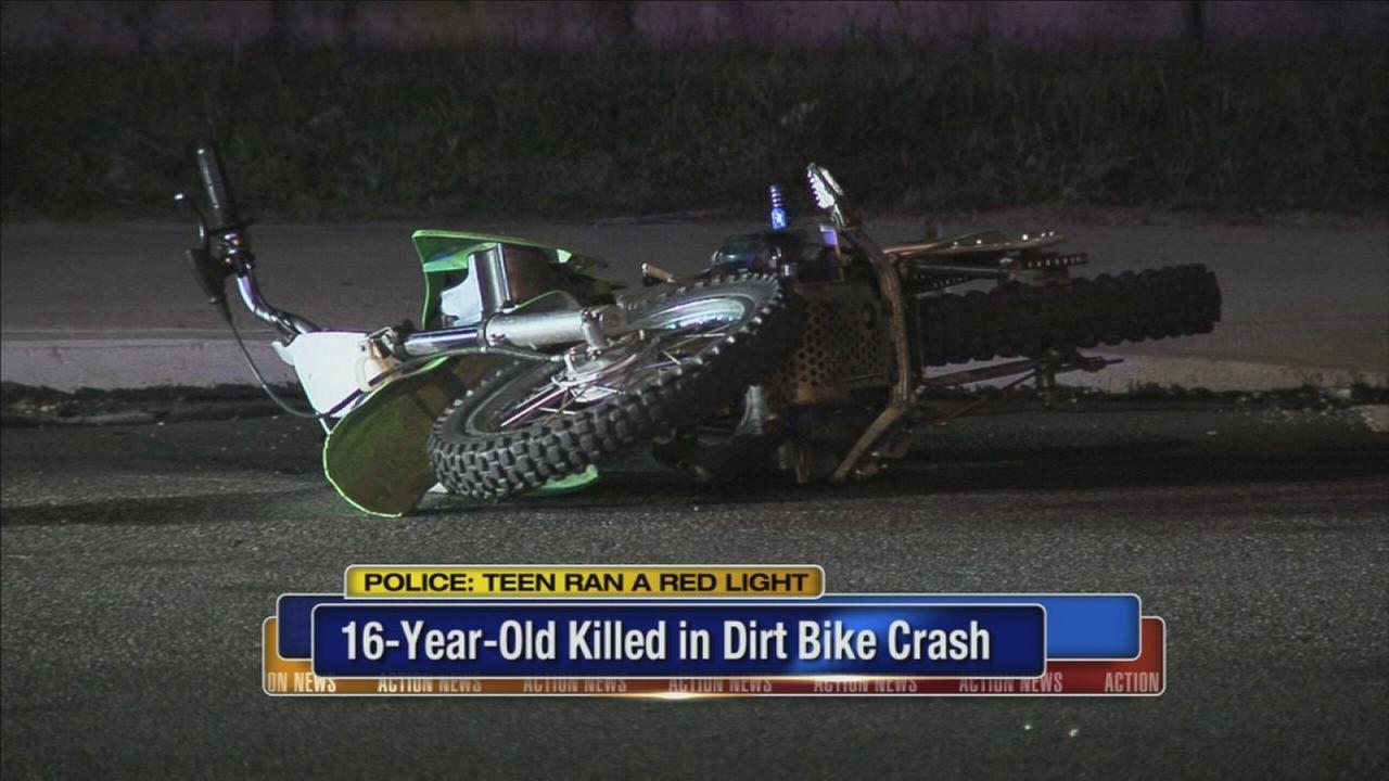 Teen killed in dirt bike crash in Lawncrest IDd