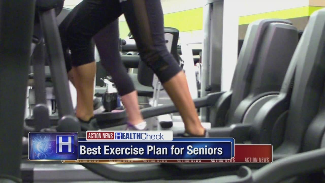 Best exercise plan for seniors