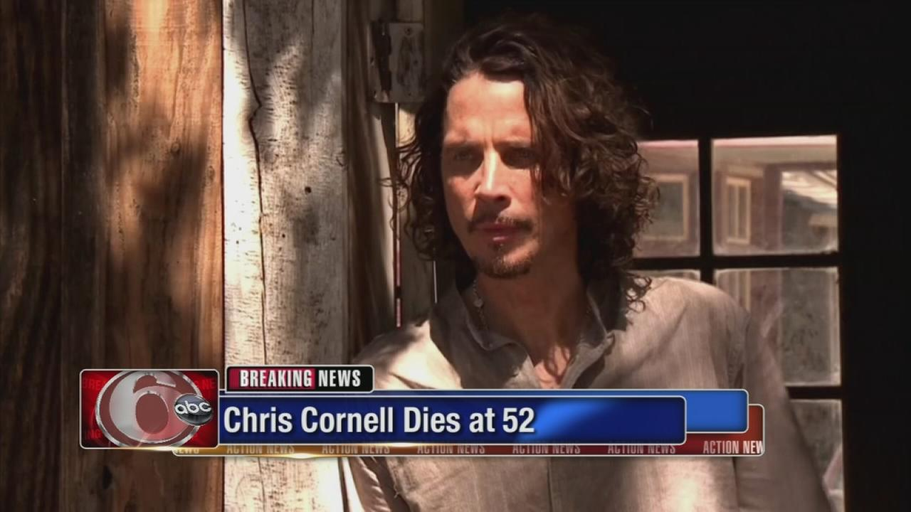 Chris Cornell dies at 52