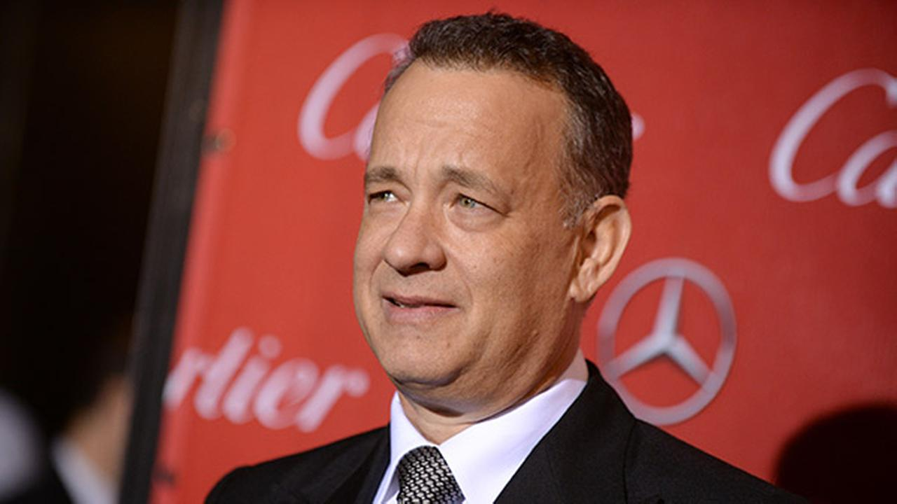 Tom Hanks in Egypt to film Hologram for the King
