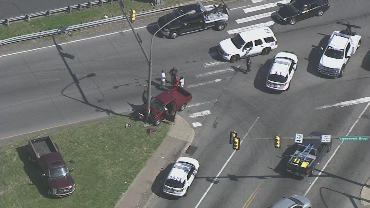 Multi Car Accident On Roosevelt Blvd
