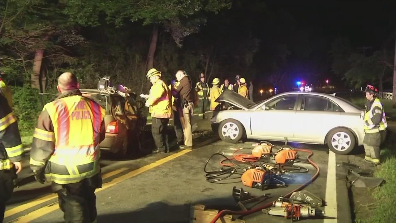 1 dead, 6 injured in Newark, Del. crash