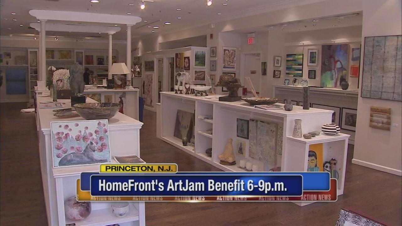 HomeFronts Art Jam benefit