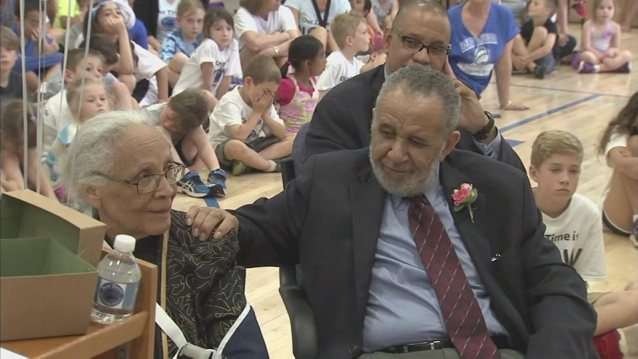 NJ students surprise couple with long overdue honeymoon