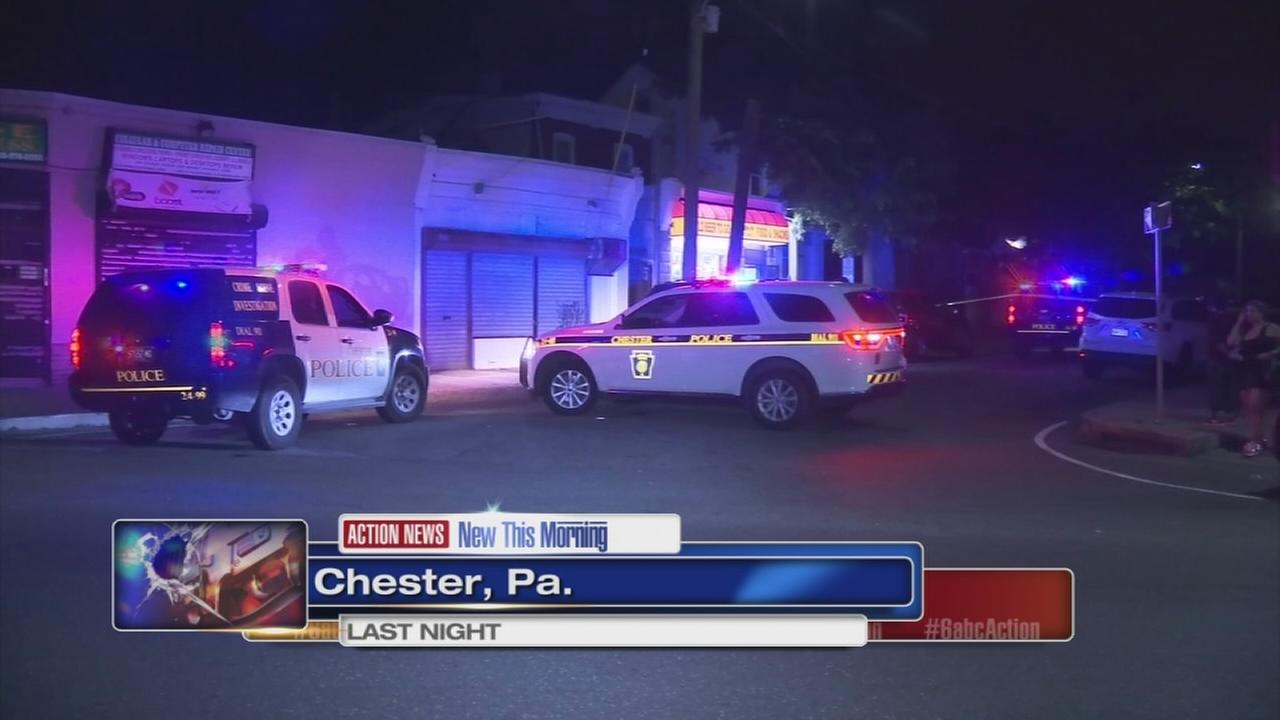 Woman shot several times in Chester