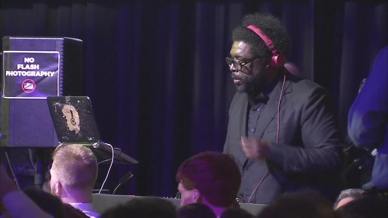 QuestLove at senior prom