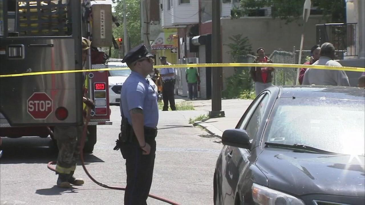 Pregnant woman found dead in North Philadelphia fire
