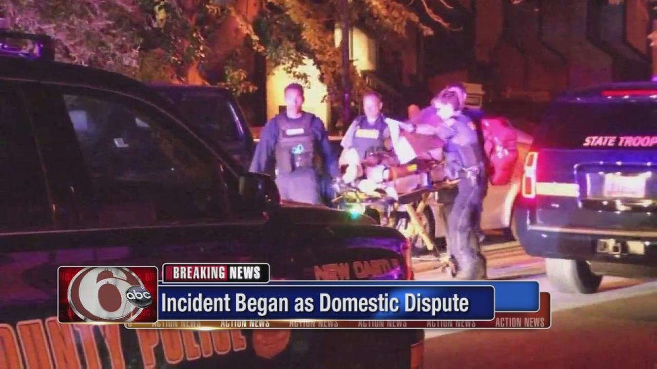 Domestic incident involving off-duty trooper