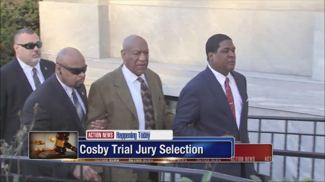 Jury selection for Cosby trial