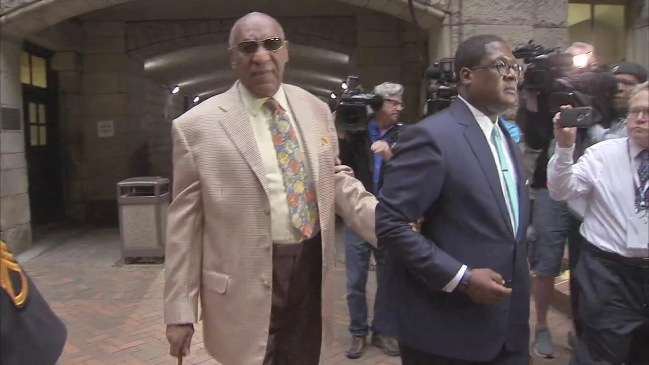 2 white men, white woman selected for Cosby jury