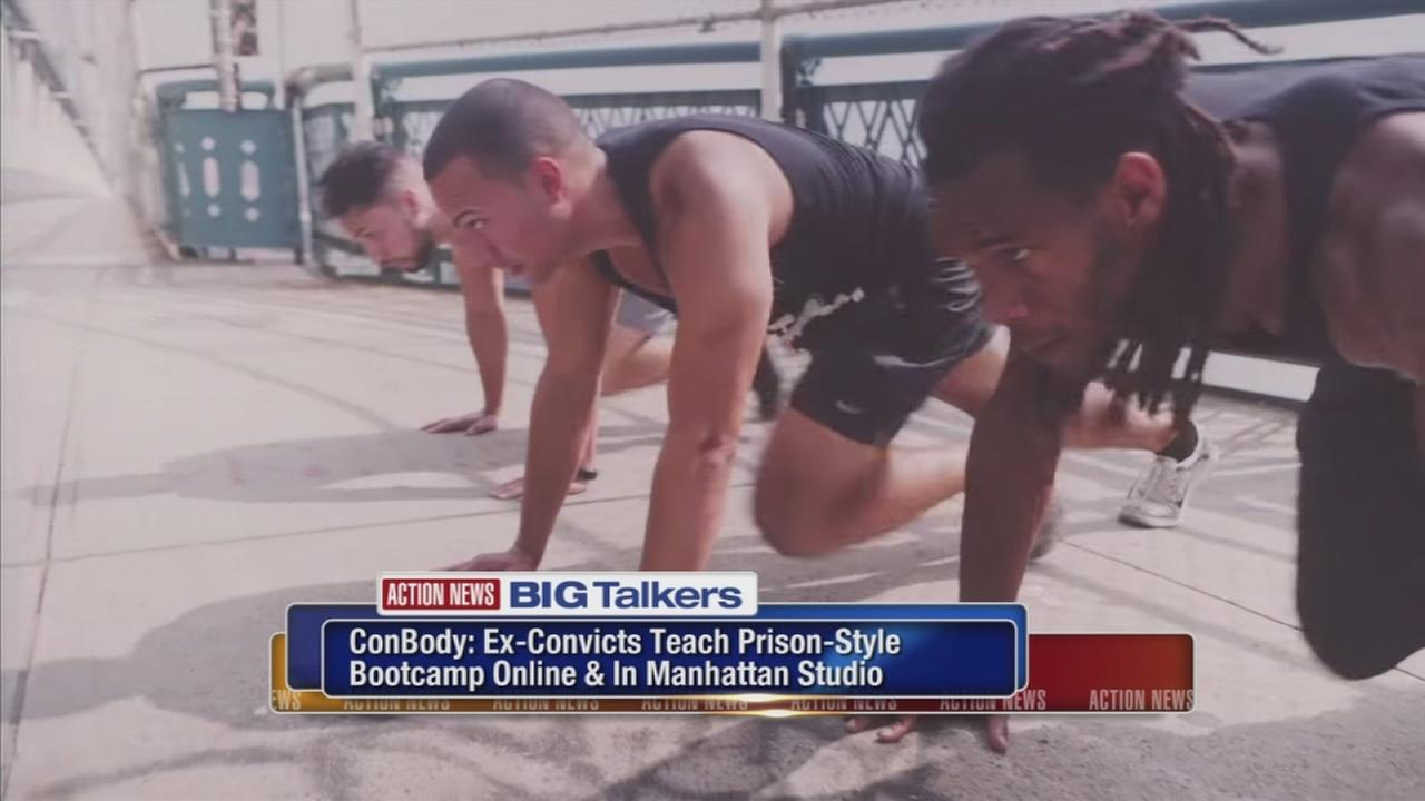 ConBody: Ex-convicts teach prison-style bootcamp workout