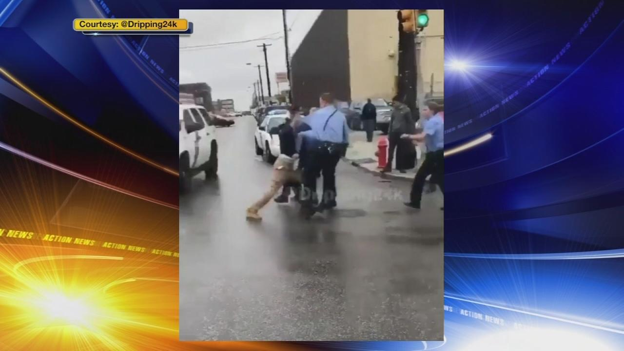 Officer injured, 3 arrested in flash mob
