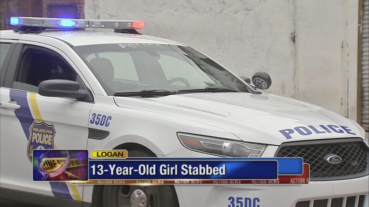 13-year-old girl stabbed in Logan