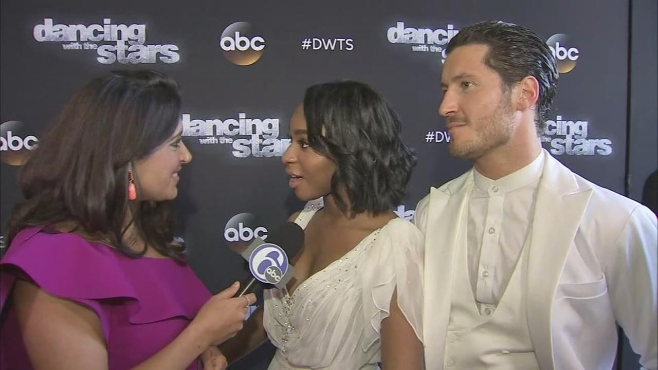 Alicia speaks with DWTS finalists