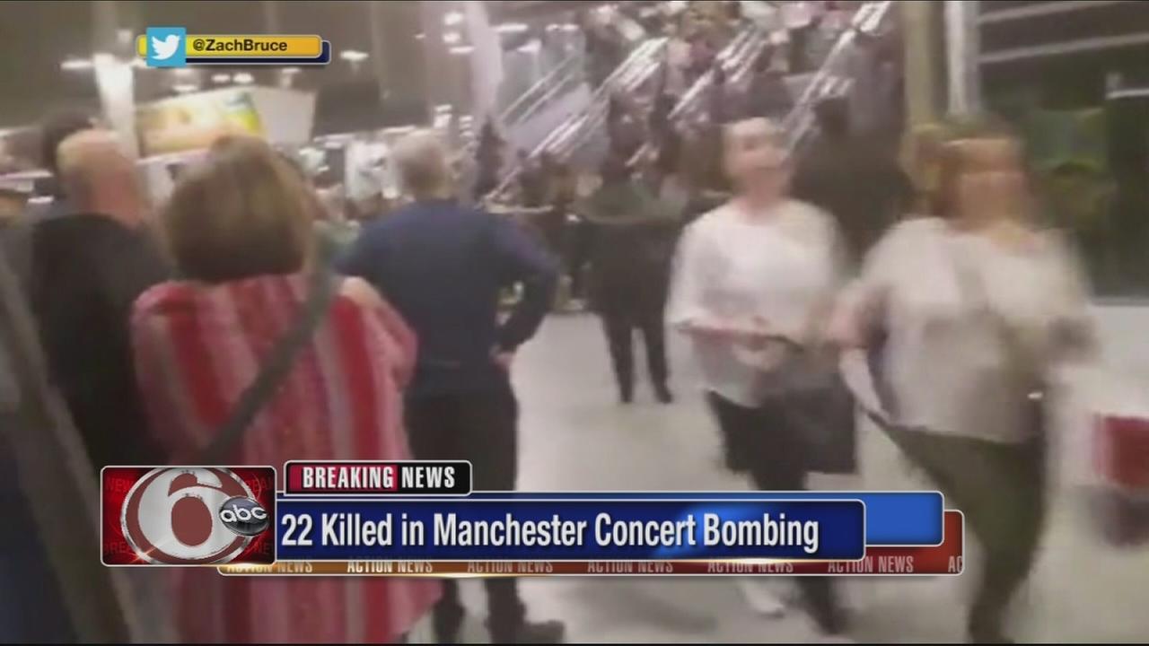 22 dead in concert bombing
