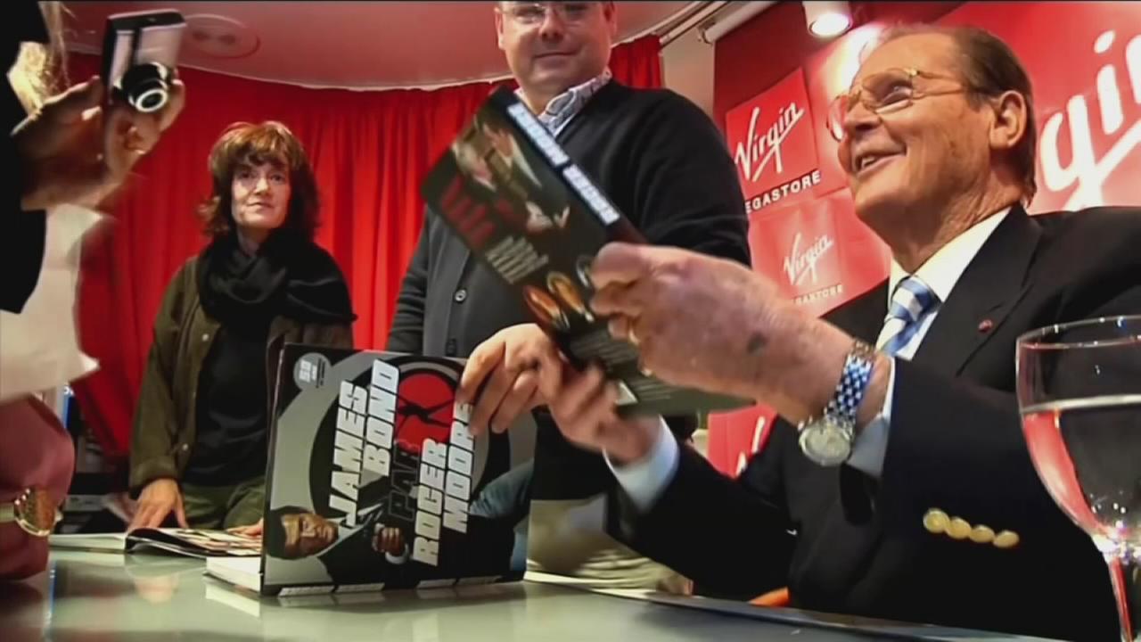 Actor Roger Moore dies