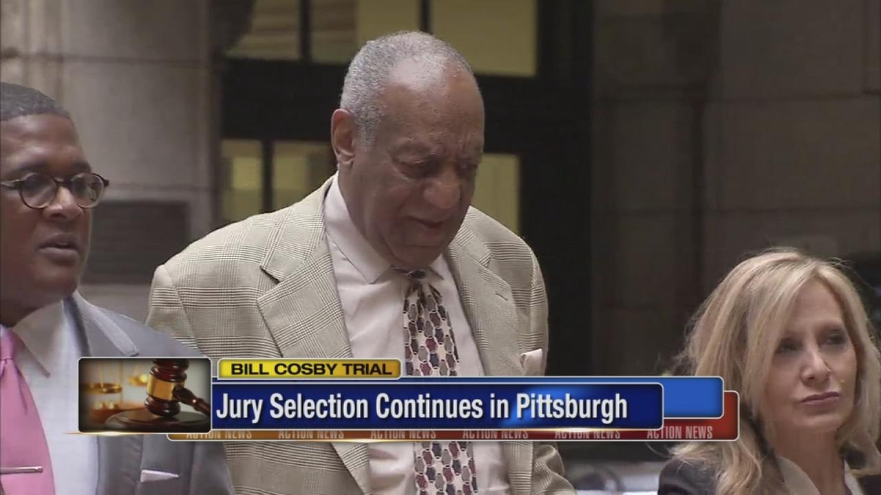 Cosby jury selection continues in Pittsburgh