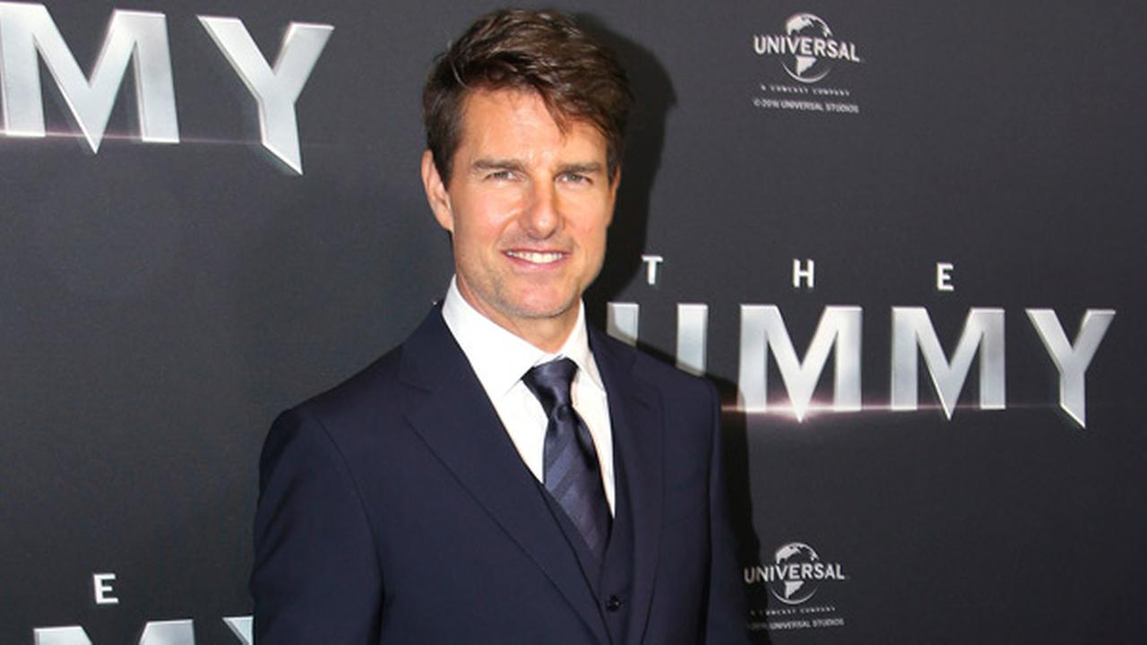 FILE - In this Monday, May 22, 2017 file photo, actor Tom Cruise arrives for the Australian premiere of his movie The Mummy, in Sydney.
