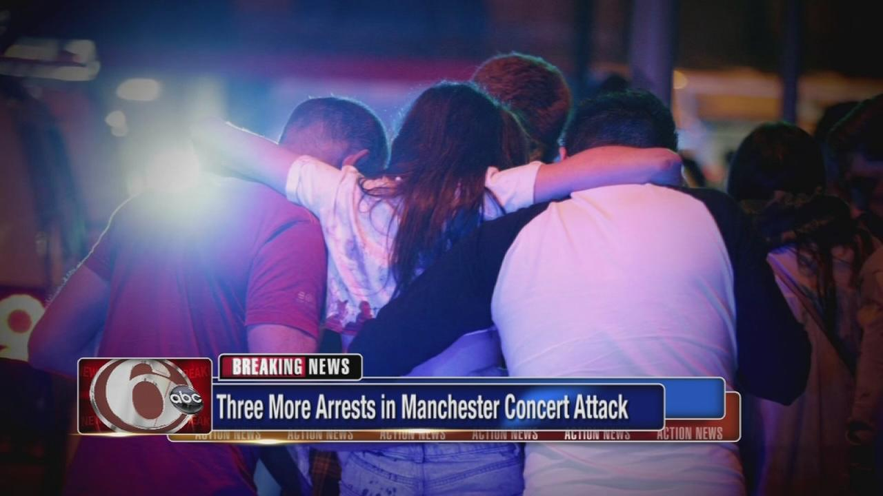 3 more arrests in Manchester