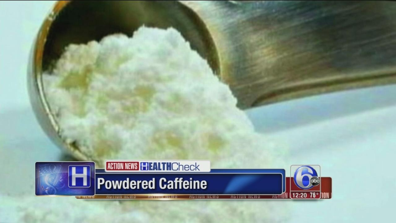 VIDEO: Spotlight on powdered caffeine