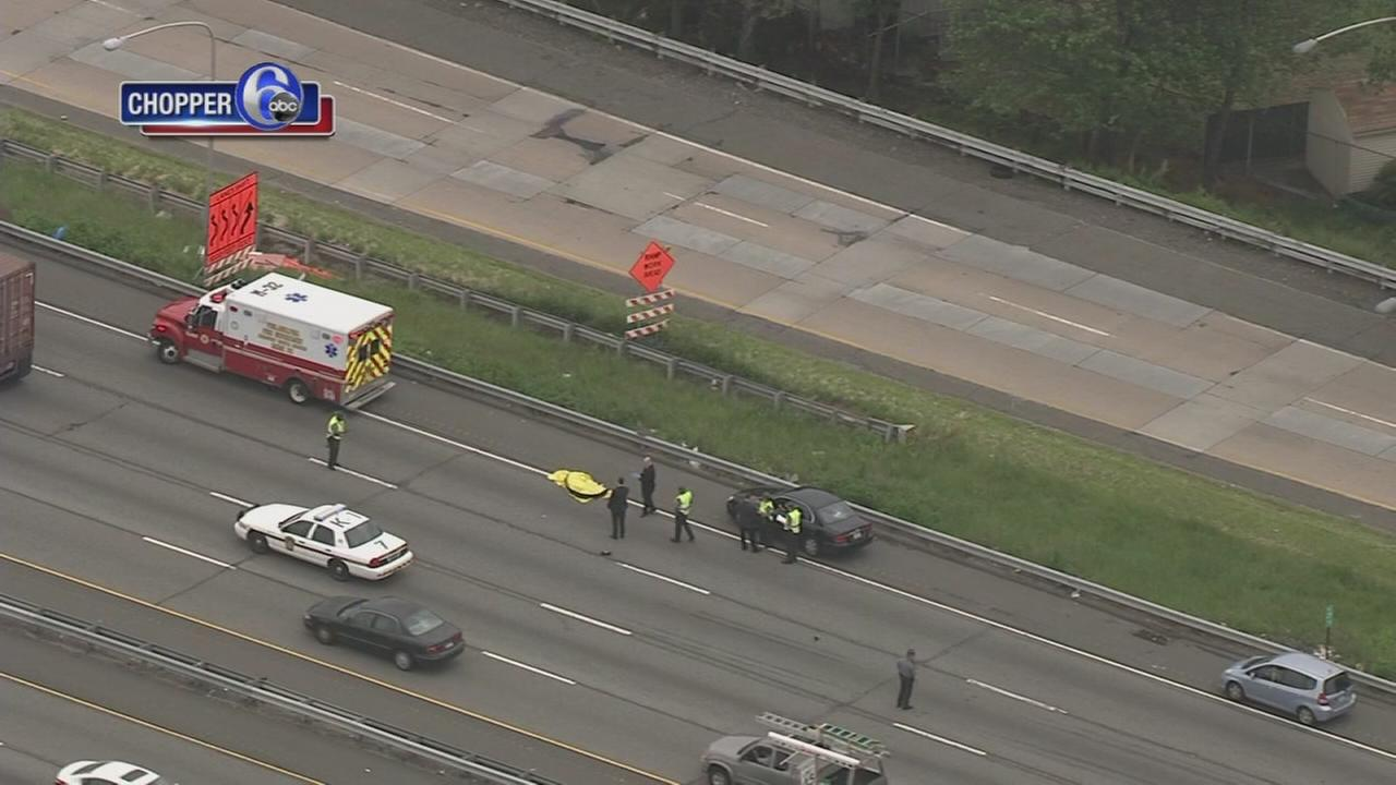 Person struck on I-95